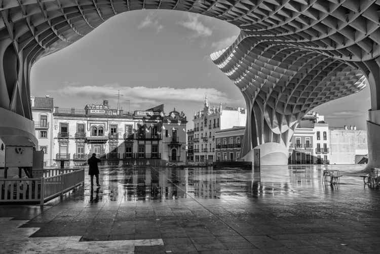 Man in Seville -