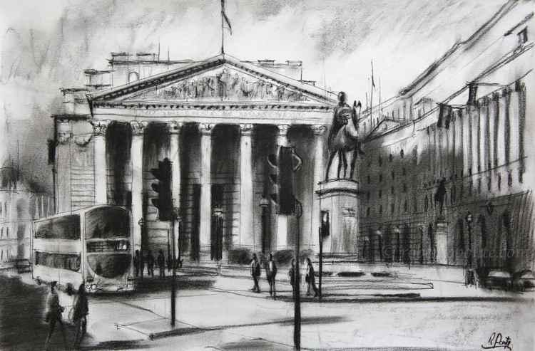 The Royal Exchange, Bank - Cornhill, London