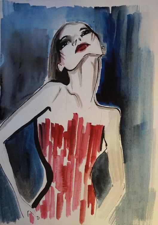 Red dress - Image 0