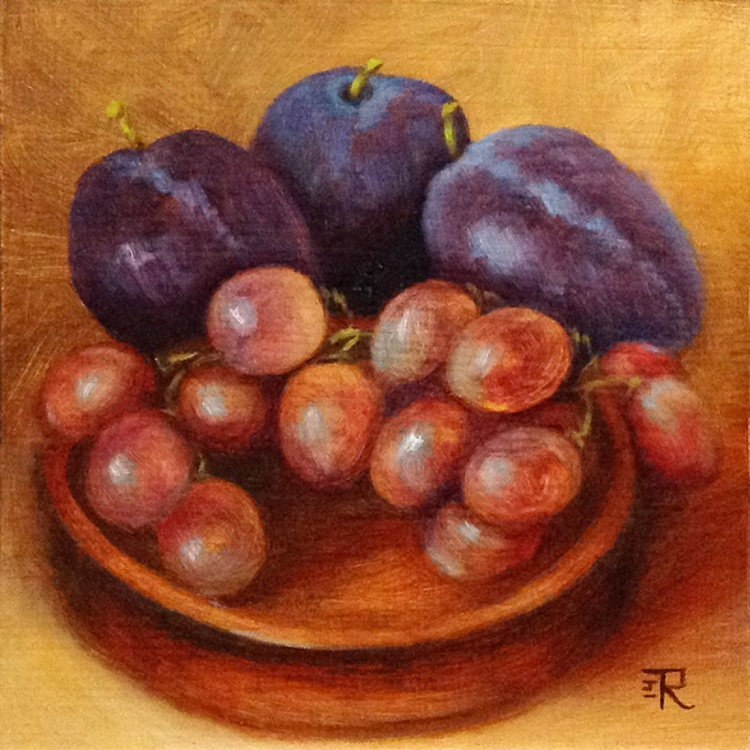 Grape And Plums - Image 0