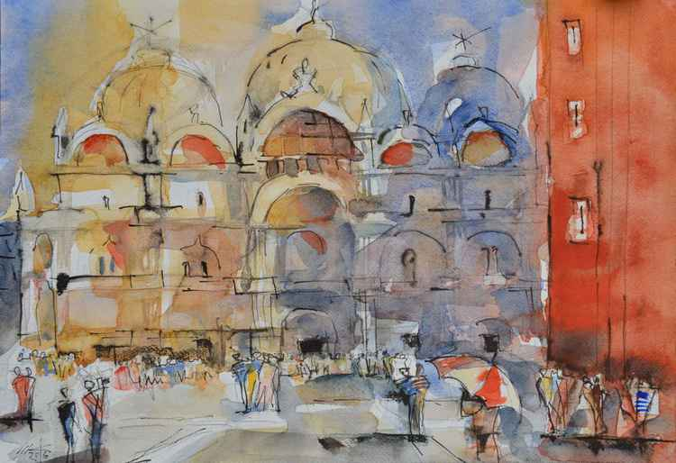 Venice Church Of San Marco -