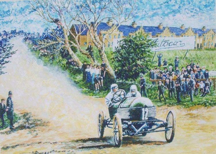 Motor Racing 1905 - Isle of Man - Image 0
