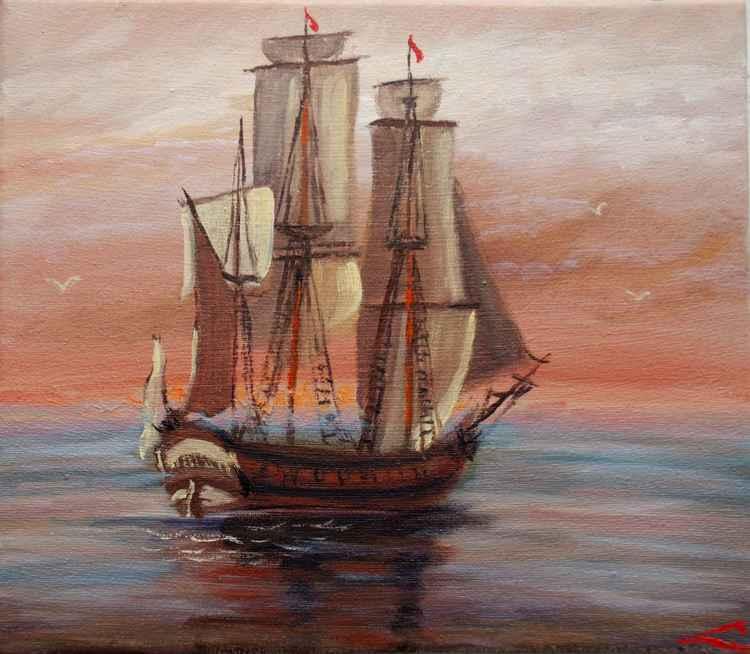 Morning sail -