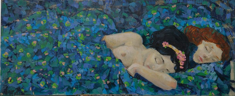 Sleeping girls - Image 0