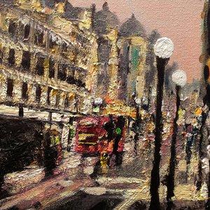 London Rainy Street 5 by Paul Mitchell