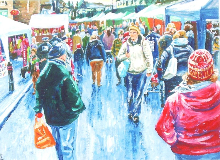 Christmas Market in Sheffield - Image 0