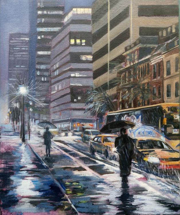 New York rain - Image 0