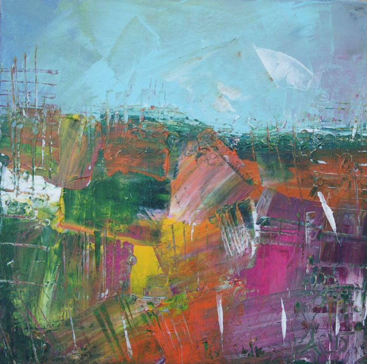 Abstract Landscape in Spring - Image 0