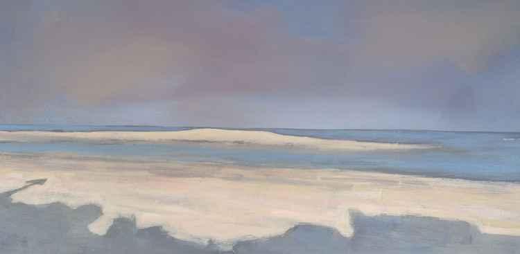 Shadow on the beach -