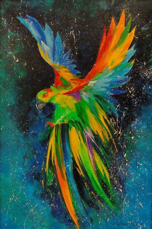 Parrot in flight - Image 0