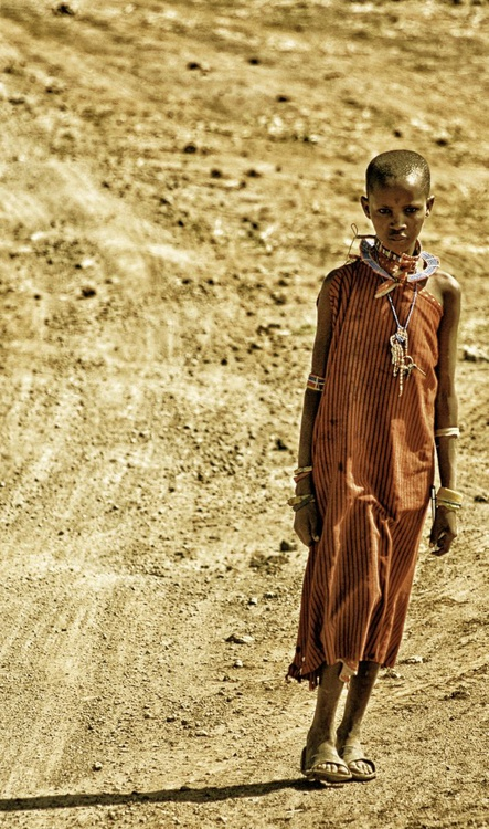 Masai Girl #1 - Image 0