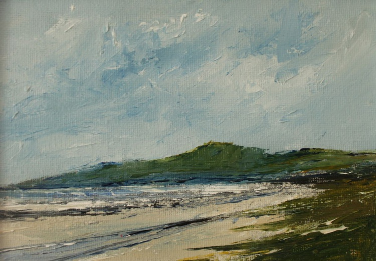 Mournes from Murlough Bay - Image 0