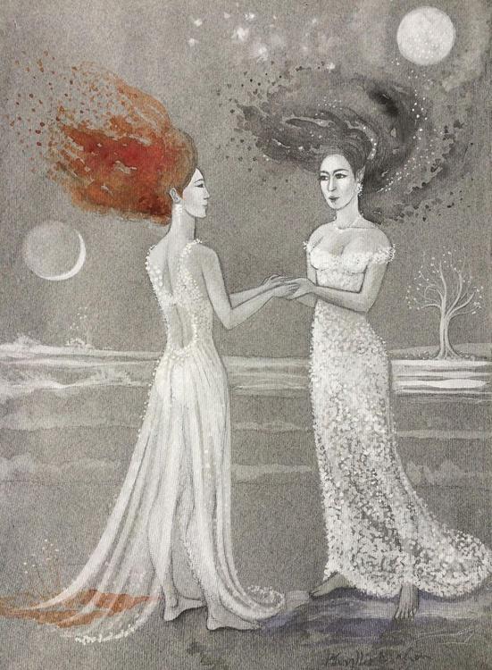 Meeting myself by moonlight - Image 0
