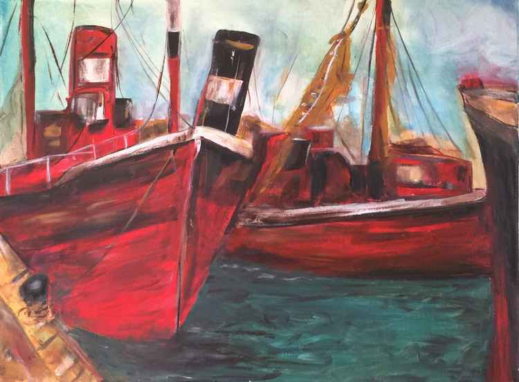 """Tug Boats"" -"