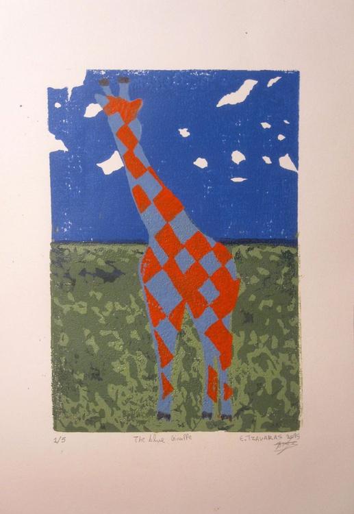 The blue Giraffe - Image 0