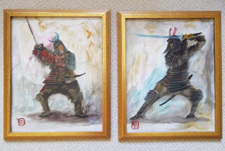 """Dueling Samurai"" - Image 0"
