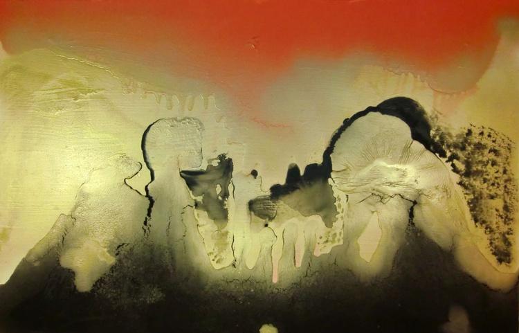 Gold, Black & Red No. 03 - Image 0