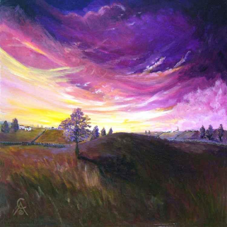 Purple Sky's -