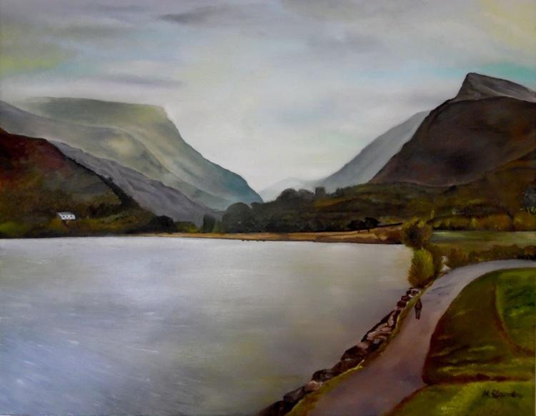 Lake at Llanberis - Image 0