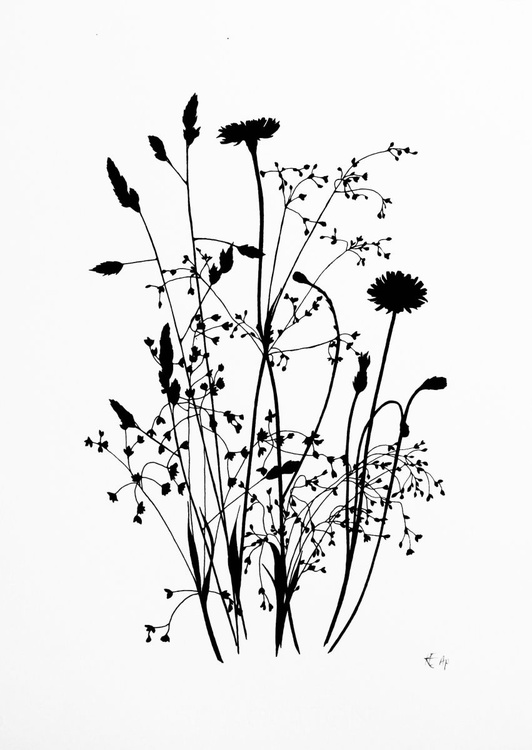 Wild Grass #1 (black) - Image 0