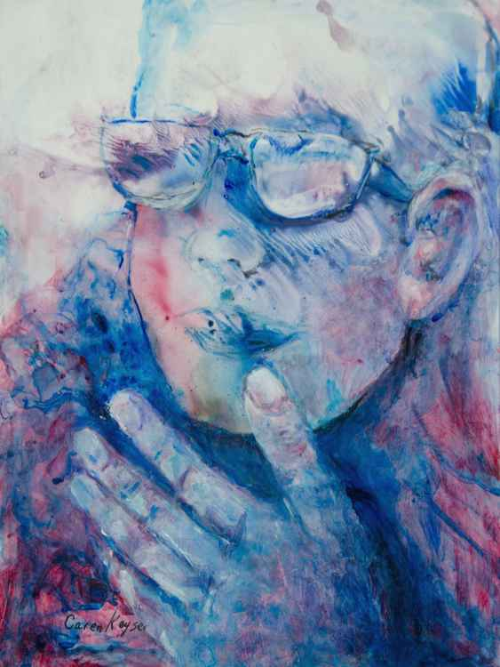 Hand and Glasses -
