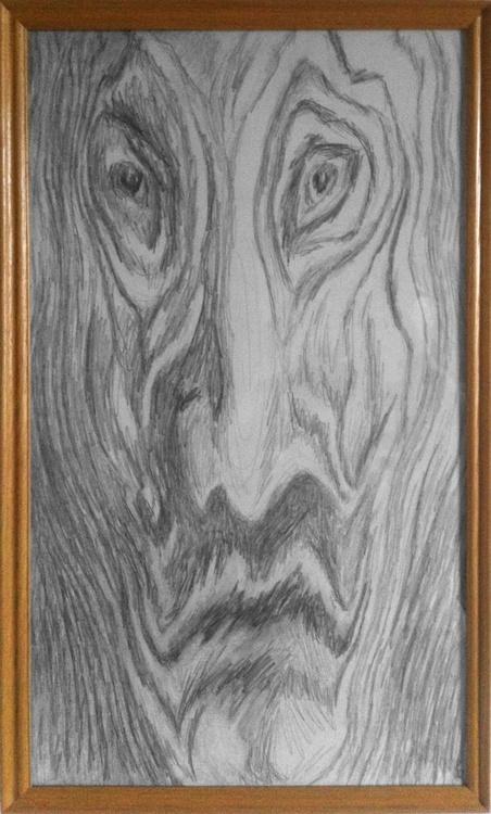 Wooden man - Image 0