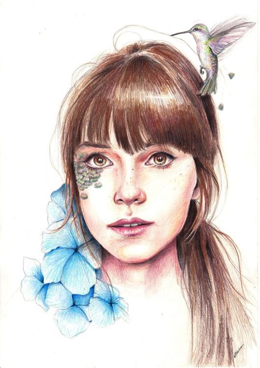 Humming Girl - Image 0