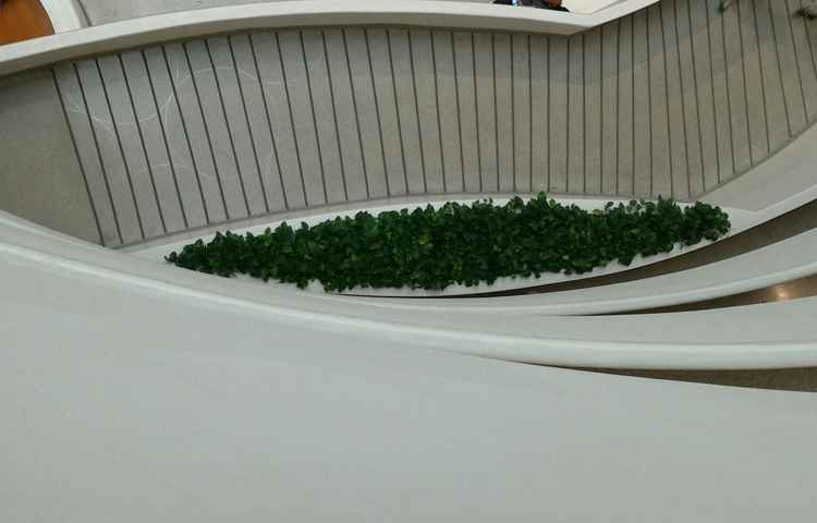 THE BLIND GREEN EYE OF GUGGENHEIM (NYC) -