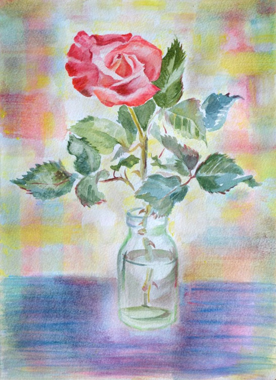 """""""The Red Rose """" - Image 0"""