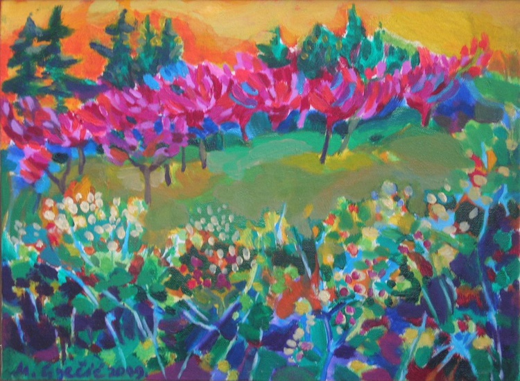 Peaches in bloom II - Image 0