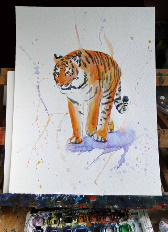 Tiger Stroll - Image 0
