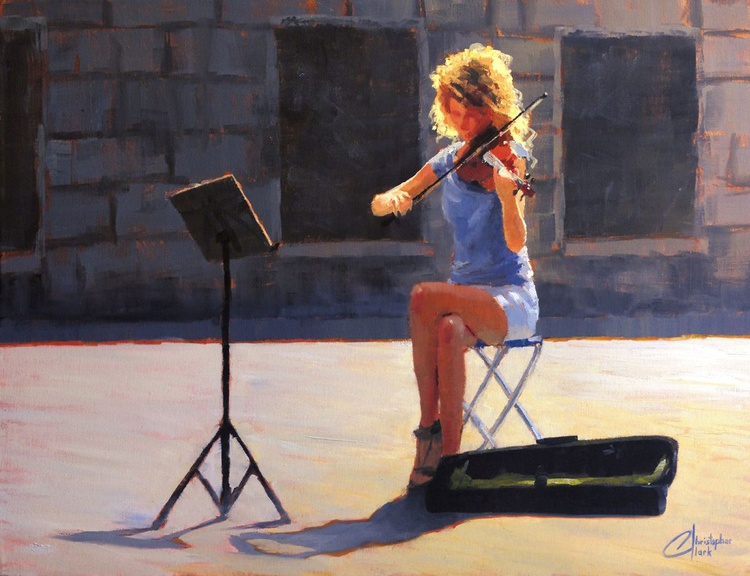 The Violinist from Venice - Image 0