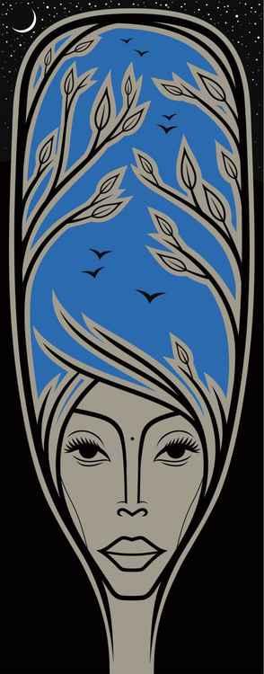 Erykah Badu (Blue Badu) -