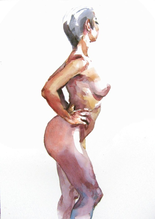 nude  (side view) - Image 0