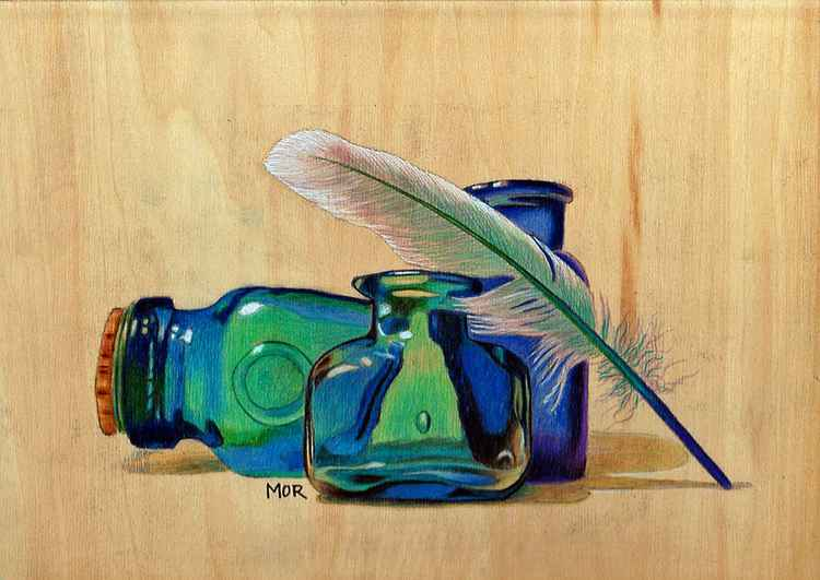 Flasks and Feather -