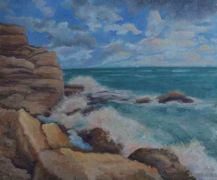 Rocky seaside -