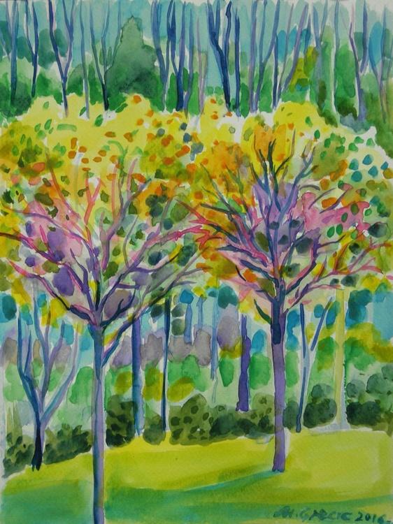 Life anew - watercolours - Image 0