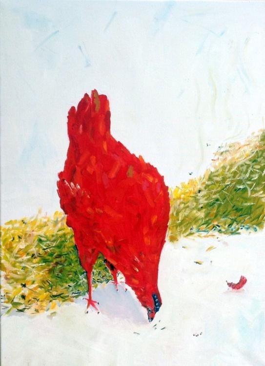 Poulet Rouge et Fumier - Image 0