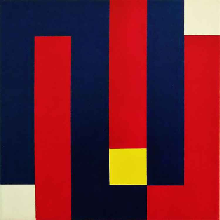 Who's Afraid of Red, Yellow and Blue (For Barnett Newman) -
