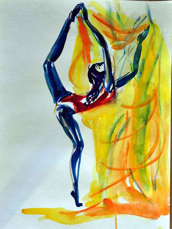 2016_Sketch#29_Watercolors on paper_42x30 -