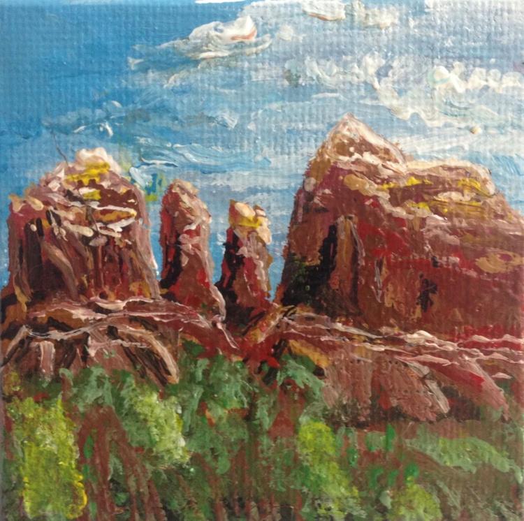 Sunny Sedona: Cathedral Rock - Image 0