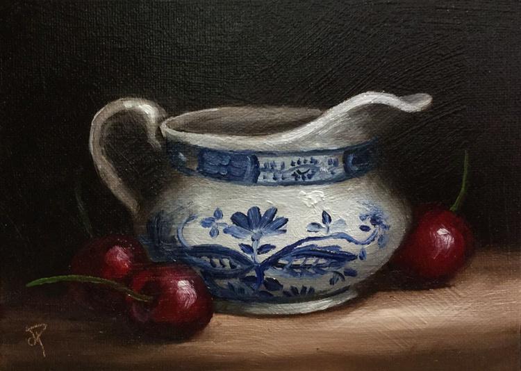 Jug with Cherries - Image 0