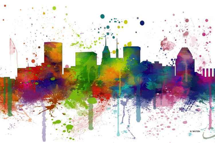 Baltimore Skyline MCLR1 -