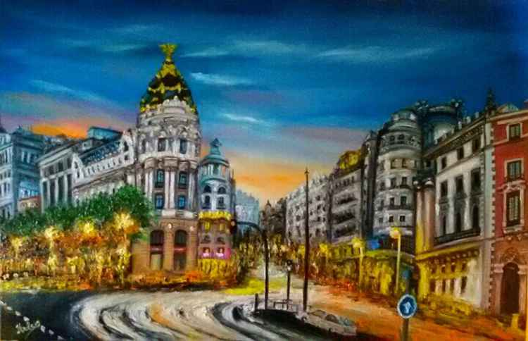 Madrid, Gran Via -