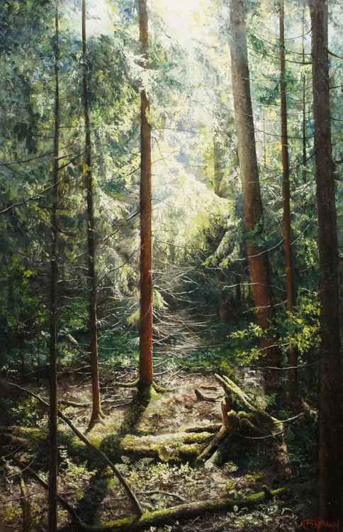 Secret forest. -
