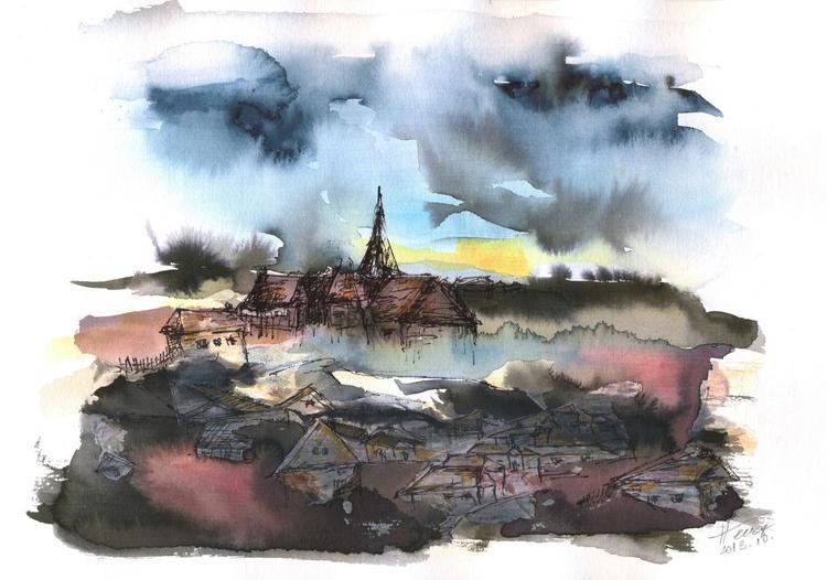 The sinking village - Image 0