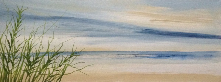 Solitude On The Beach - Image 0