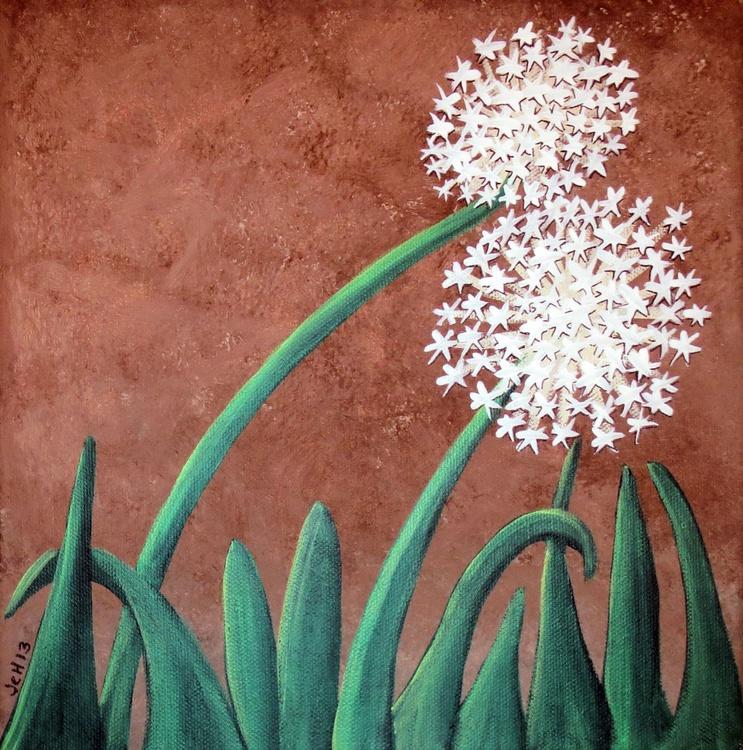 Dandelions on Chocolate - Image 0