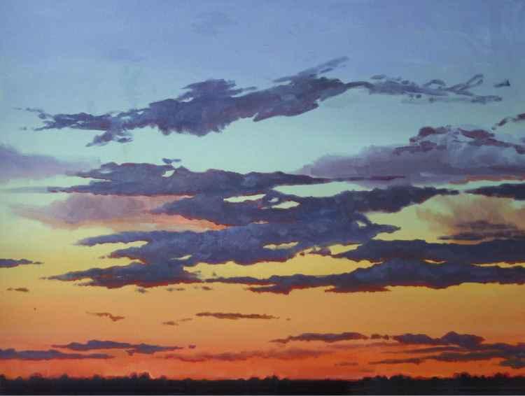 Desert Sunset -