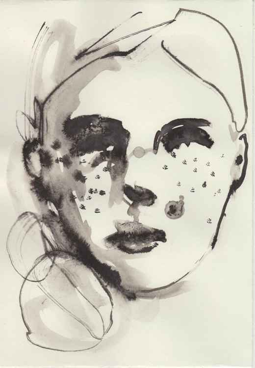Ink Portrait 210616/2 -